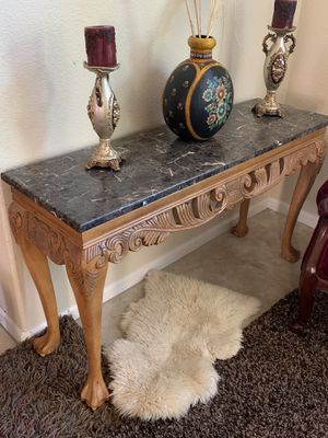 Marble Console Table $280 for Sale in Antioch, CA
