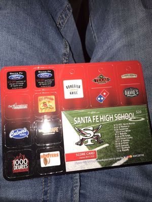 Coupon Card (Gainesville FL area only) for Sale in Gainesville, FL