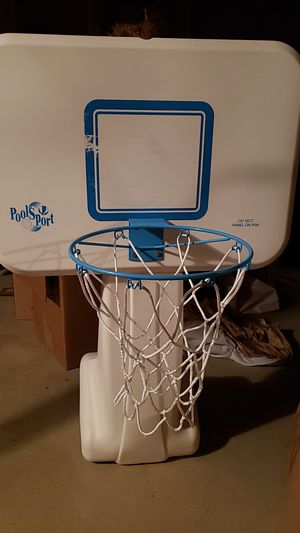 Pool sport basketball hoop and stand for Sale in Chestertown, MD