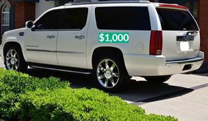 💲1OOO 2OO8 Cadillac Escalade Strong for Sale in Bridgeport, CT