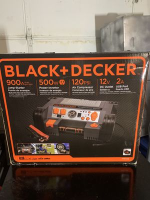 Black and Decker 900amp Jump Starter for Sale in Land O Lakes, FL