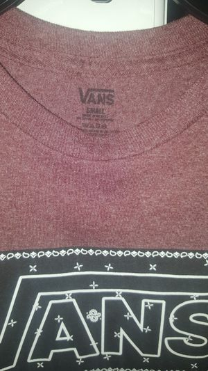 2 brand new Vans shirts in size S & XL both for $25 for Sale in Lehigh Acres, FL