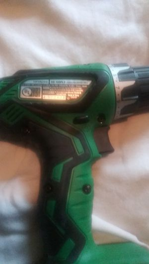 2 CORDLESS Hi ITACHI DRIVERS IN GREEN AND BLACK CASE for Sale in Neosho, MO