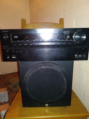 Onkyo stereo system with 5 speakers included brand new! for Sale in Phoenix, AZ