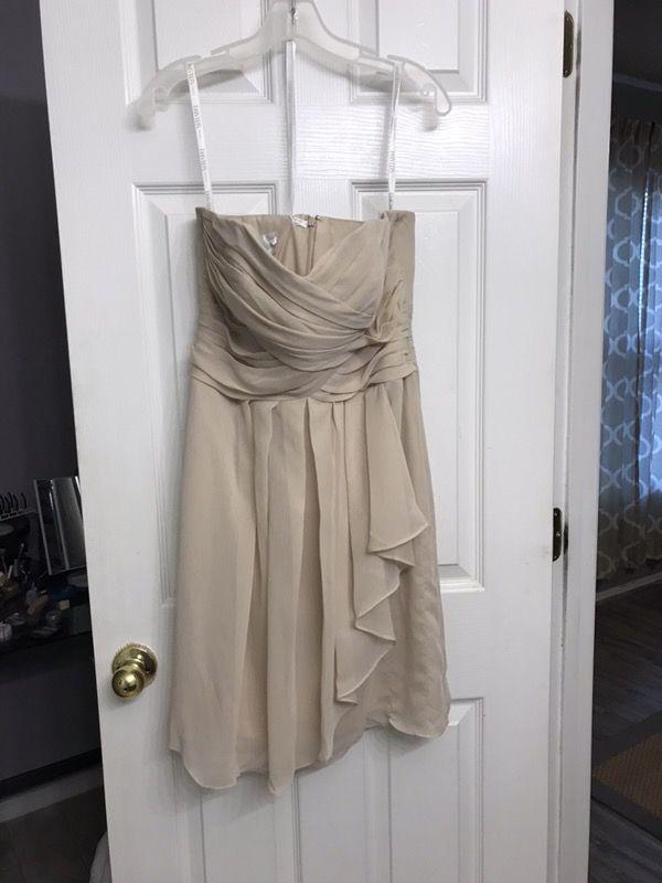 David's Bridal Bridesmaid Dress - Size 8
