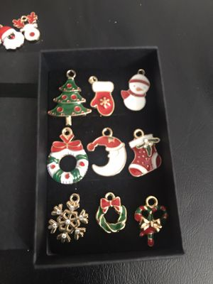Christmas charm set pendant for necklace all new for Sale in Taylors, SC