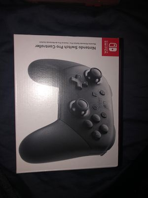 Nintendo switch pro controller for Sale in Tracy, CA