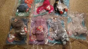 Seven 1993 Ty McDonalds Beanie Babies in package OBO for Sale in Port Richey, FL