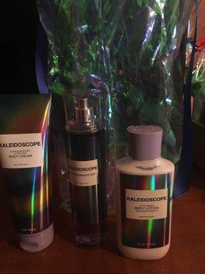 Bath and Body 3pc Kaleidoscope Fragrance for Sale in Fort Worth, TX