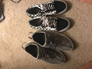Yeezy 350 an vans and yeezy 350 an airmax 97 for Sale in Lithonia, GA