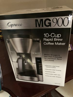 Capresso coffee maker for Sale in Milton, FL