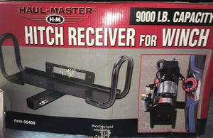 Hitch Receiver and ATV & utility Winch for Sale in Southfield, MI