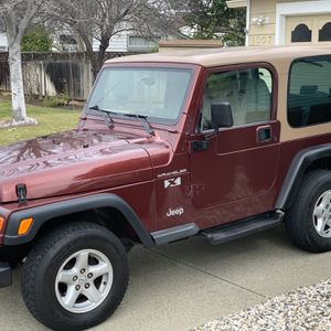 2002 Jeep Wrangler X 4X4 for Sale in Antioch, CA