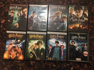 Complete set of Harry Potter movies for Sale in Rockville, MD