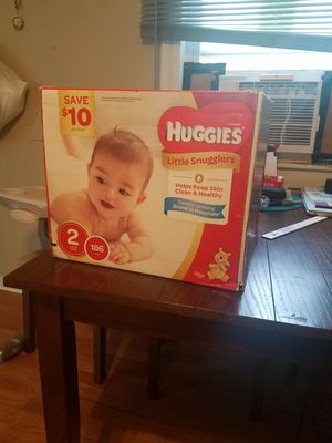 Huggies size 2 diapers for Sale in New Athens, IL