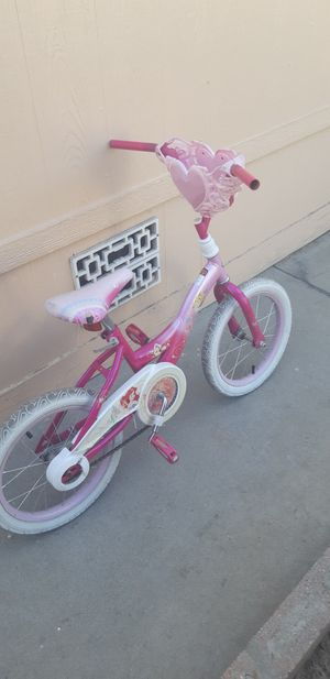 16 inch princess girls bike great condition for Sale in Colton, CA