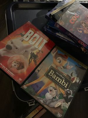 Used Disney Bambi and Bolt 2 lot bundle dvd for Sale in Commerce City, CO