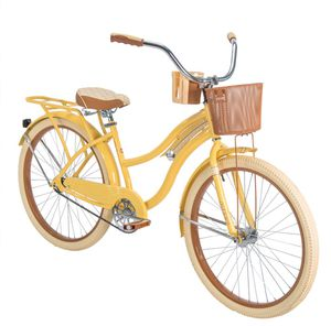 "Brand New! Huffy 26"" Nel Lusso Yellow Cruiser Bike for Sale in Detroit, MI"