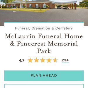 Burial Plot And Vault for Sale in Clayton, NC