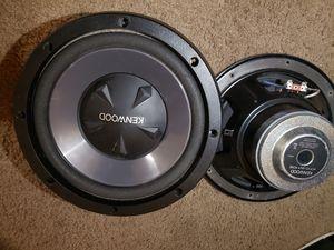 """Speakers kenwood 10"""" for Sale in Clackamas, OR"""