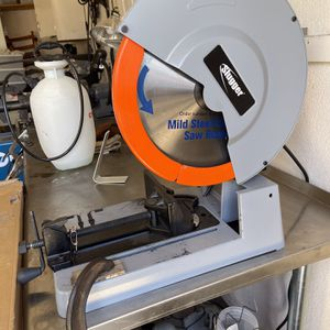 """14"""" (335mm) Slugger Metal Cutting Saw Like New, Used A Couple Of Times Excellent Condition ! for Sale in Gilbert, AZ"""