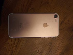 iPhone 7 rose gold 220 obo for Sale in Iowa City, IA