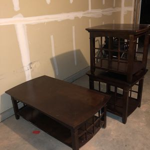Coffee And End Tables for Sale in Albuquerque, NM