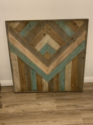 Wood Wall Art Decor for Sale in Fullerton, CA