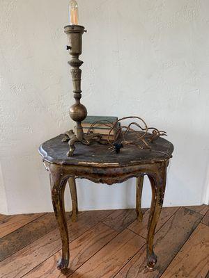Vintage bronze lamp—it works!! for Sale in El Cajon, CA