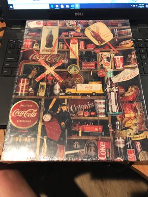 Coke Anniversary Puzzle for Sale in Seabrook, TX
