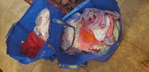 2 IKEA bags of baby girl clothing for Sale in Palm City, FL