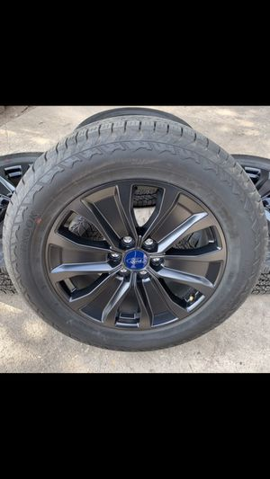 "New 20"" Ford black factory rims and All Terrain tires 100% tread! 6 Lug original Wheels Rines y llantas 2017 F 150 Expedition 2016 F-150 rine 2019 ll for Sale in Dallas, TX"