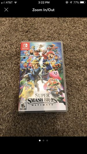 Super smash brothers Nintendo switch for Sale in Ashburn, VA
