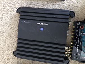Amplifier,crossover and eq for Sale in Washington, DC