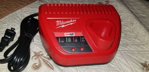 CHARGE 12V MILWAUKEE FIRM PRICE ANY OTHER OFFER WILL BE REJECTED THANK YOU for Sale in Stanton, CA