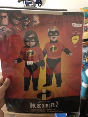 Incredibles baby Jax Halloween costume for Sale in Las Vegas, NV