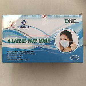 Brand New! Disposable Face Mask 4 Layers for Sale in Santa Ana, CA