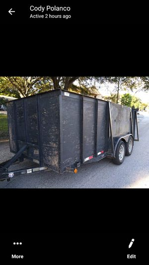 8×10 enclosed trailer with gate for Sale in Houston, TX
