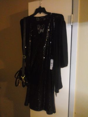 Brand new..sequined..dress..and accessories.. for Sale in San Antonio, TX