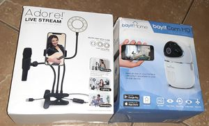 Wireless Camera/live stream with light for Sale in Gilbert, AZ