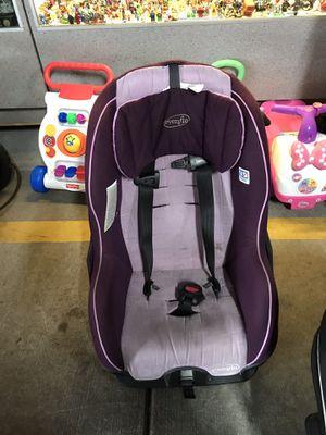 Evenflo purple car seat for Sale in Jacksonville, FL