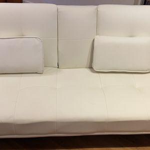 White Futon for Sale in Victoria, TX