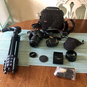 Camera Nikon D3200 for Sale in Vienna, VA
