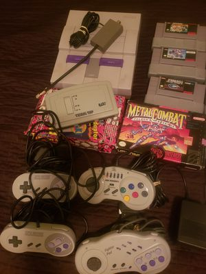 Super Nintendo bundle for Sale in Crosby, TX