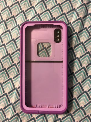 iPhone X lifeproof case for Sale in Burke, VA
