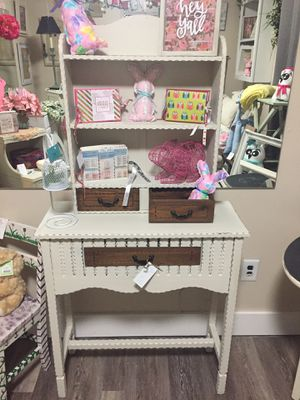 Console table and shelf for Sale in Franklin, IN