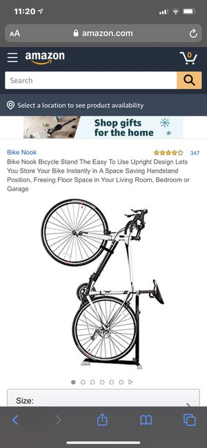 Nook stand up bike rack for Sale in Clovis, CA