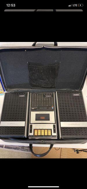 Marantz Superscope CS-200 Professional Cassette Recorder w/ 2 Speakers & Case for Sale in Lake Forest, CA