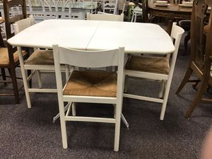White table with four chairs for Sale in Jacksonville, NC
