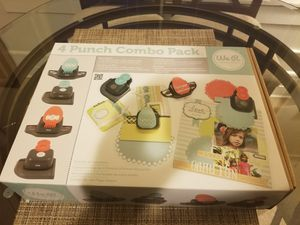 4 punch combo pack (craft) for Sale in Cleveland, OH
